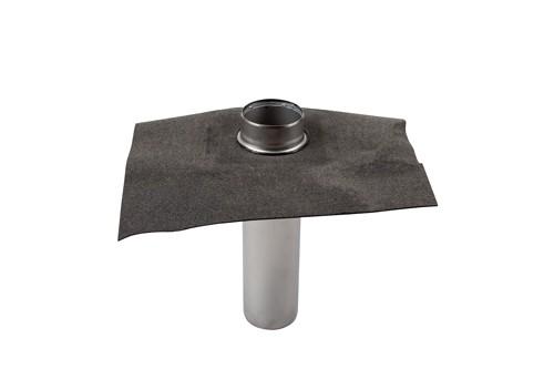 Papp sargbräddavlopp H=50 mm ø 50 mm, tapprör 400  och 600 mm