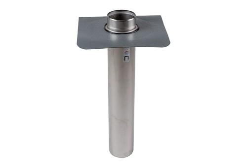 Protanbräddavlopp mörk Förhöjd 50 mm ø 110 mm, tapprör 600 mm